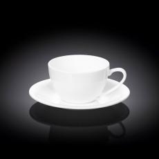 Набор из 4-х чашек для капучино с блюдцами 180 мл WL‑993001/4C, фото 1