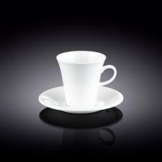 Набор из 4-х кофейных чашек с блюдцами 160 мл WL‑993005/4C, фото 1