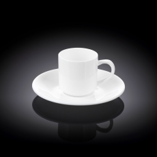 Набор из 2-х кофейных чашек с блюдцами 90 мл WL‑993007/2C, фото 1