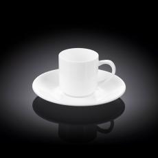 Набор из 4-х кофейных чашек с блюдцами 90 мл WL‑993007/4C, фото 1