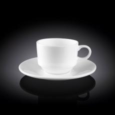 Набор из 6-ти кофейных чашек с блюдцами 140 мл WL‑993039/6C, фото 1
