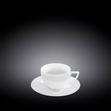 Кофейная чашка и блюдце 90 мл WL‑880107‑JV/AB, фото 1