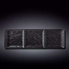 Блюдо прямоугольное 3-х секционное 40,5x13 см WL‑661136/A, фото 1