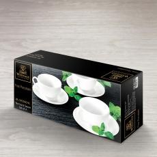 Набор из 4-х чайных чашек с блюдцами 250 мл WL‑993000/4C, фото 2