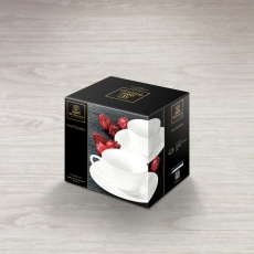 Набор из 2-х чашек для капучино с блюдцами 180 мл WL‑993001/2C, фото 2