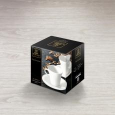 Набор из 2-х кофейных чашек с блюдцами 160 мл WL‑993005/2C, фото 2