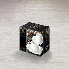 Набор из 2-х кофейных чашек с блюдцами 90 мл WL‑993007/2C, фото 2