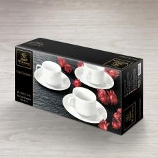 Набор из 4-х чайных чашек с блюдцами 215 WL‑993112/4C, фото 2