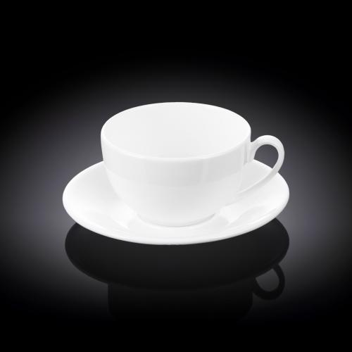 Набор из 4-х чайных чашек с блюдцами 250 мл WL‑993000/4C, фото 3