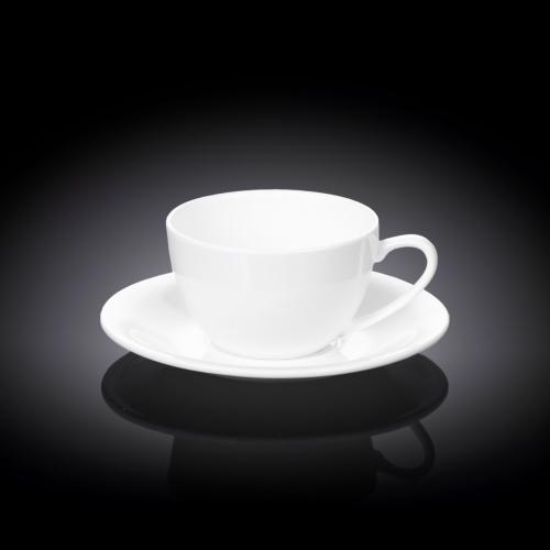 Набор из 2-х чашек для капучино с блюдцами 180 мл WL‑993001/2C, фото 3