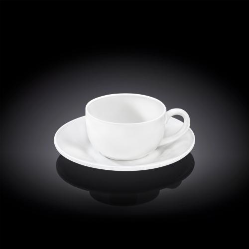 Набор из 4-х кофейных чашек с блюдцами 100 мл WL‑993002/4C, фото 3