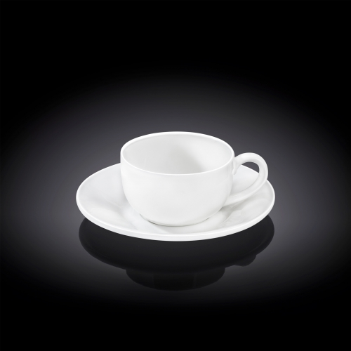 Чашка кофейная и блюдце 100 мл WL‑993002/AB, фото 3
