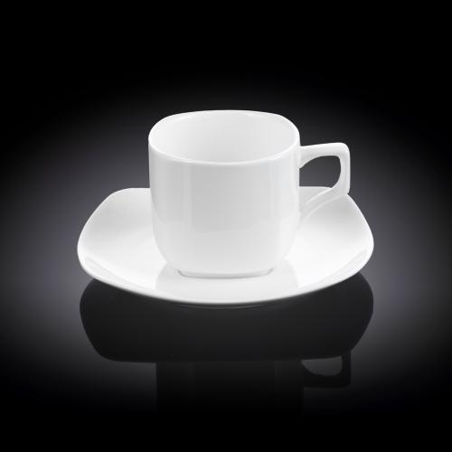 Набор из 6-ти чайных чашек с блюдцами 200 мл WL‑993003/6C, фото 3