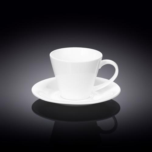 Набор из 4-х чайных чашек с блюдцами 180 мл WL‑993004/4C, фото 3