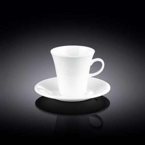 Набор из 2-х кофейных чашек с блюдцами 160 мл WL‑993005/2C, фото 3