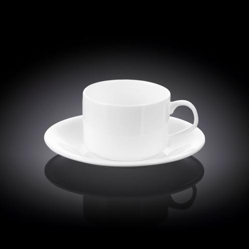 Набор из 2-х чайных чашек с блюдцами 160 мл WL‑993006/2C, фото 3