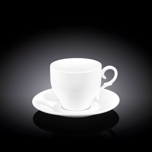 Набор из 4-х чайных чашек с блюдцами 220 мл WL‑993009/4C, фото 3