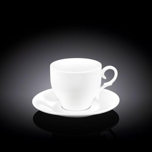 Набор из 6-ти чайных чашек с блюдцами 220 мл WL‑993009/6C, фото 3