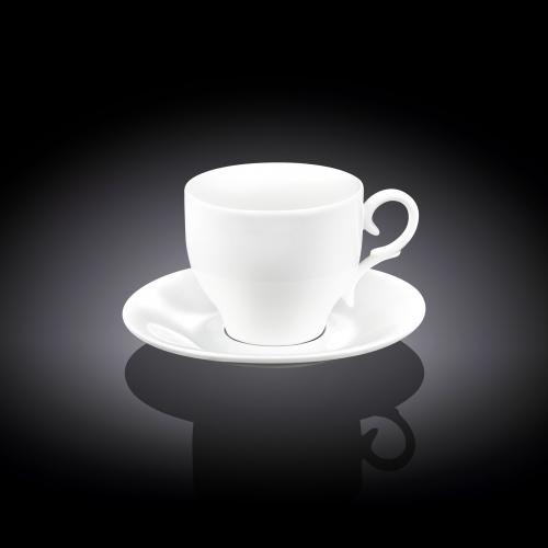 Чашка кофейная и блюдце 90 мл WL‑993103/AB, фото 3