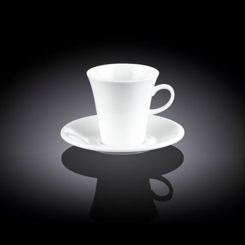 Чашка кофейная и блюдце 90 мл WL‑993108/AB, фото 3
