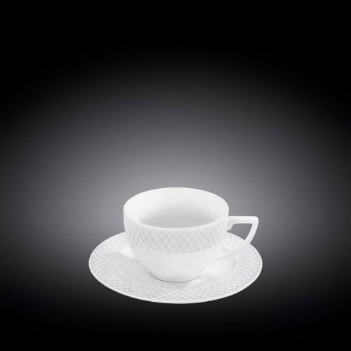 Набор из 6-ти чашек для капучино с блюдцами 170 мл WL‑880106‑JV/6C, фото 3