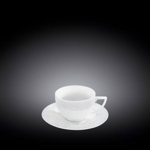 Набор из 6-ти кофейных чашек с блюдцами 90 мл WL‑880107‑JV/6C, фото 3