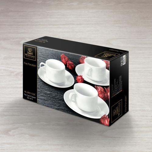 Набор из 6-ти чайных чашек с блюдцами 215 WL‑993112/6C, фото 4