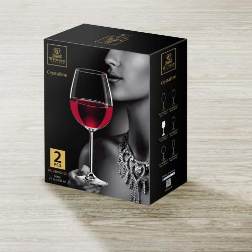 Набор из 2-х бокалов для вина 630 мл WL‑888002/2C, фото 4