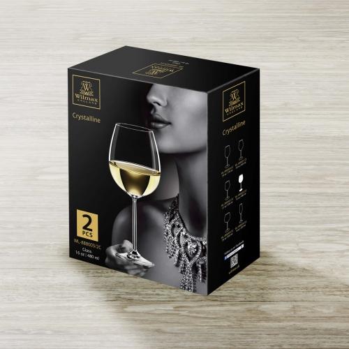 Набор из 2-х бокалов для вина 480 мл WL‑888003/2C, фото 4