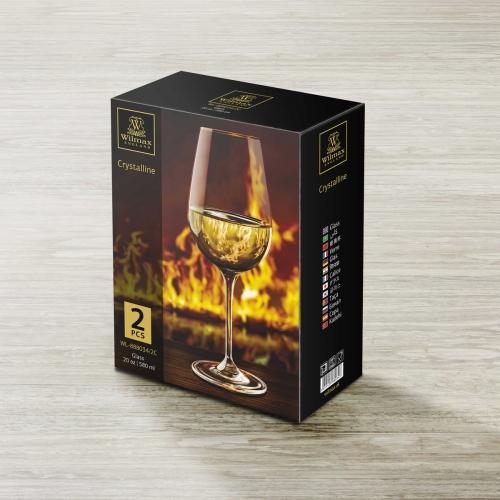 Набор из 2-х бокалов для вина 580 мл WL‑888034/2C, фото 5