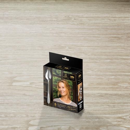 Набор из 6-ти кофейных ложек 11,5 см WL‑999204JV/6C, фото 4